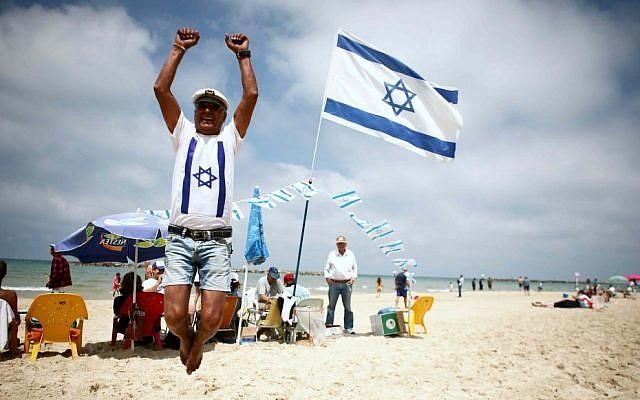 Celebrating life in Israel (photo credit: Yehoshua Yosef/Flash90)