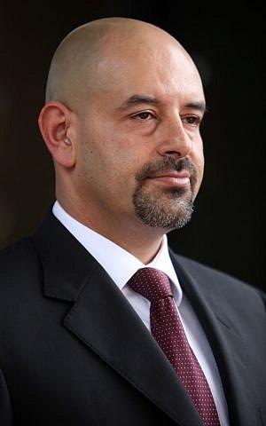 Jordanian ambassador to Israel Walid Obeidat (photo credit: Flash90/Yoav Ari Dudkevitch)