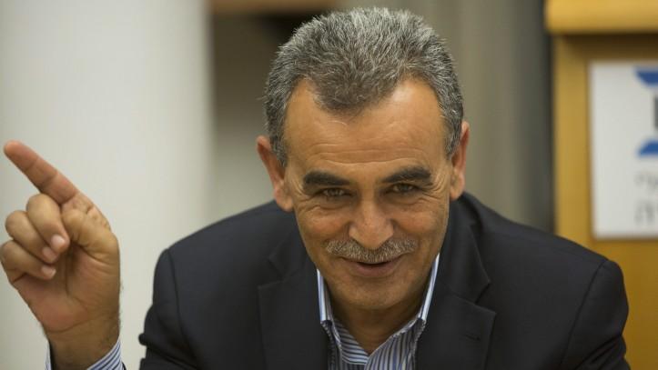 Jamal Zahalka (Yonatan Sindel/Flash90)