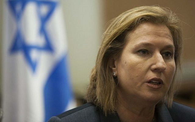 Justice Minister Tzipi Livni (photo credit: Yonatan Sindel/Flash90)