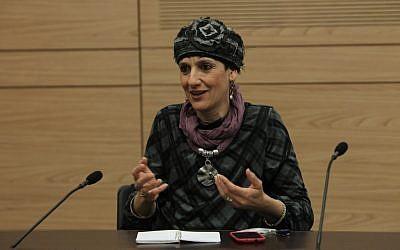 Jewish Home MK Shuli Moalem (Miriam Alster/Flash90)