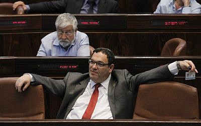 Education Minister Shai Piron at the Knesset. (photo credit: Miriam Alster/Flash90)