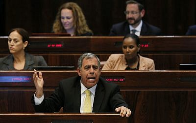 Deputy Finance Minister Mickey Levi at the Knesset. (photo credit: Miriam Alster/Flash90)
