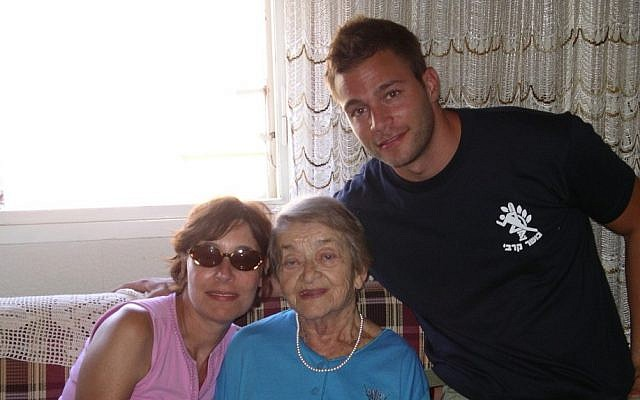 Adopt-a-Safta matches Holocaust survivors with young immigrants to Israel. (photo credit: Courtesy)