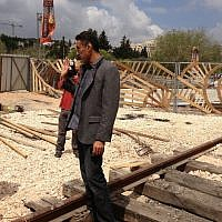 Avi Mordoch, the entrepreneur who likes to bring Tel Aviv flavor to Jerusalem (photo credit: Jessica Steinberg/Times of Israel)