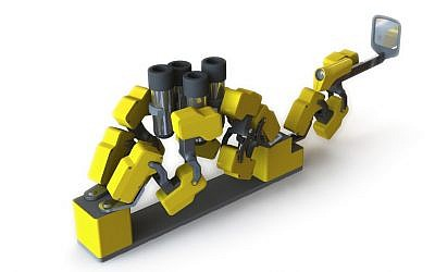 Artist's rendering of MiRobot (Photo credit: Courtesy)