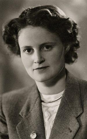 A 1940 portrait of Ina Soep Polak. (photo credit: courtesy)