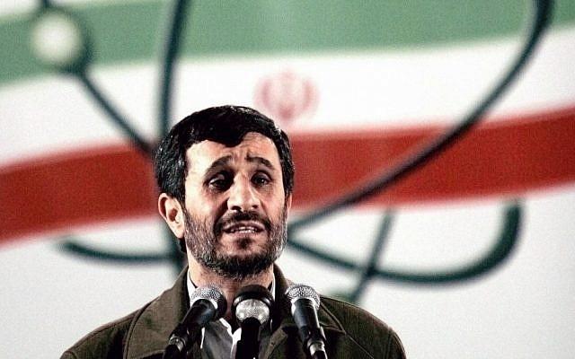 Iranian President Mahmoud Ahmadinejad (AP/Hasan Sarbakhshian)