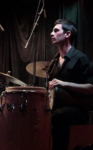 Percussionist Itai Meshorer (photo credit: courtesy)