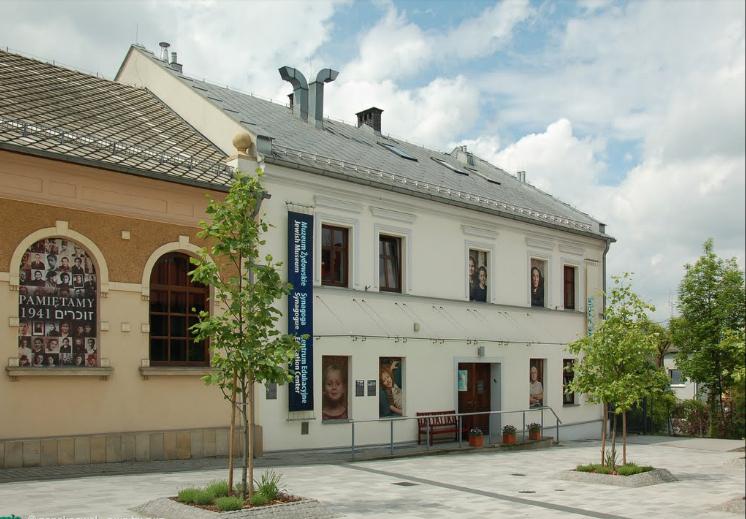 The Auschwitz Jewish Center in Oswiecim, Poland (photo credit: Google Street Views)