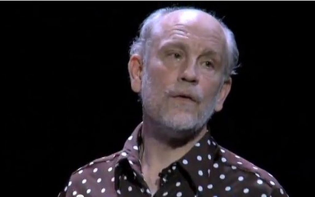 John Malkovich In Israel For Musical Drama Role The