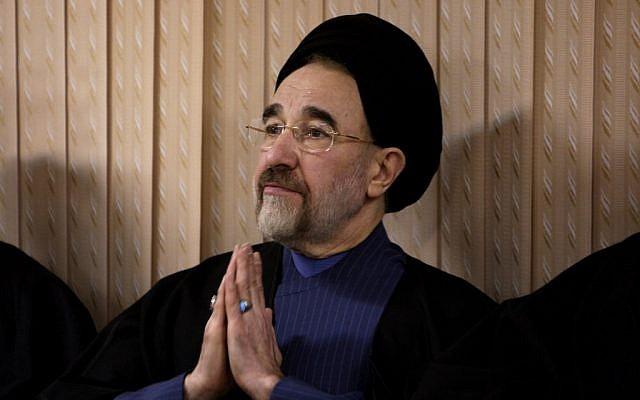 Iran's former president Mohammad Khatami. (AP Photo/Vahid Salemi, file)