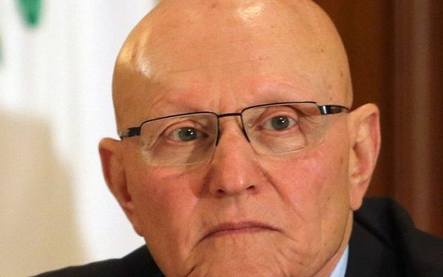 Lebanon's Prime Minister Tammam Salam, formerly a member of parliament and minister of culture. (photo credit: AP/Ahmad Omar)