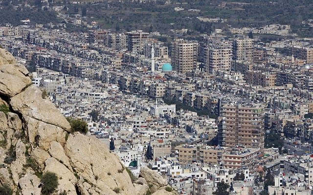 Damascus, Syria, March 22, 2012 (photo credit:AP/Muzaffar Salman)