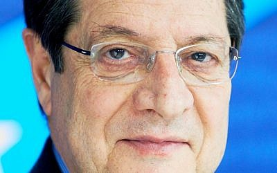 Cypriot President Nicos Anastasiades (photo credit: European People's Party/Wikimedia Commons/File)