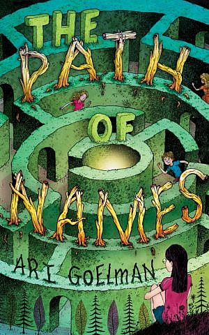 'The Path of Names,' published by Scholastic, Inc., is the first mainstream kids' novel set at a Jewish summer camp. (photo credit: Courtesy Scholastic/Arthur A. Levine Books)