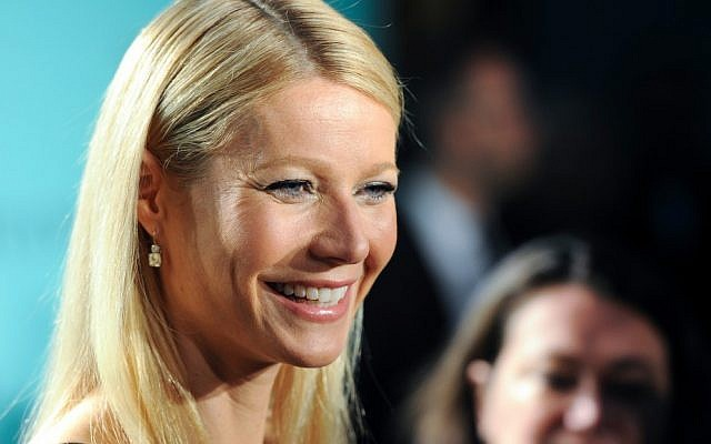 Actress Gwyneth Paltrow attends the Tiffany & Co. Blue Book Ball at Rockefeller Center on Thursday, April 18, 2013 in New York. (photo credit: Evan Agostini/Invision/AP, File)