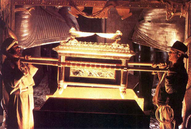 The ark, as depicted in 'Raiders of the Lost Ark' (Courtesy YouTube screengrab)