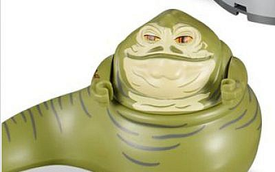 Jabba the gluttonous gangster resembles a stereotypical 'Oriental,' according to some Turkish Muslims. (photo credit: Lego)