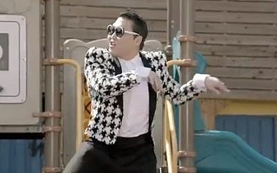 PSY in the 'Gentleman' video. (screen capture, YouTube)