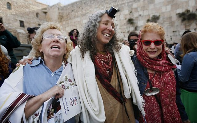 Members of the Women of the Wall group this month. The rabbinate, Igra says, 'is committed to Judaism as it was given to Moses at Sinai 3,225 years ago' (photo credit: Miriam Alster/FLASH90)
