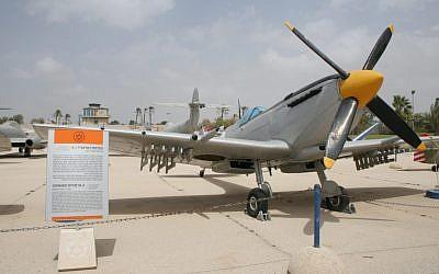 Spitfire, Air Force Museum (photo credit: Shmuel Bar-Am)