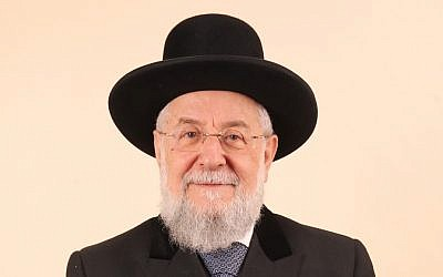 Rabbi Yisrael Meir Lau (photo credit: Flash90)