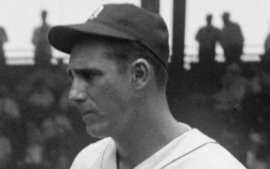 Hank Greenberg at the 1937 All-Star game.