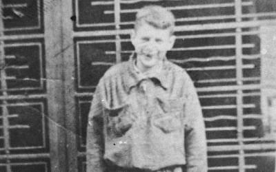 Peretz Hochman circa 1942. (photo credit: United States Holocaust Memorial Museum)