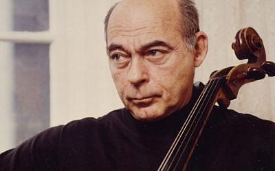 Hugarian Jewish cellist Janos Starker. (photo credit: courtesy)