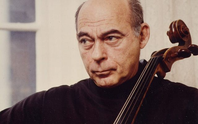 Hugarian Jewish cellist Janos Starker. (photo credit: courtesy)