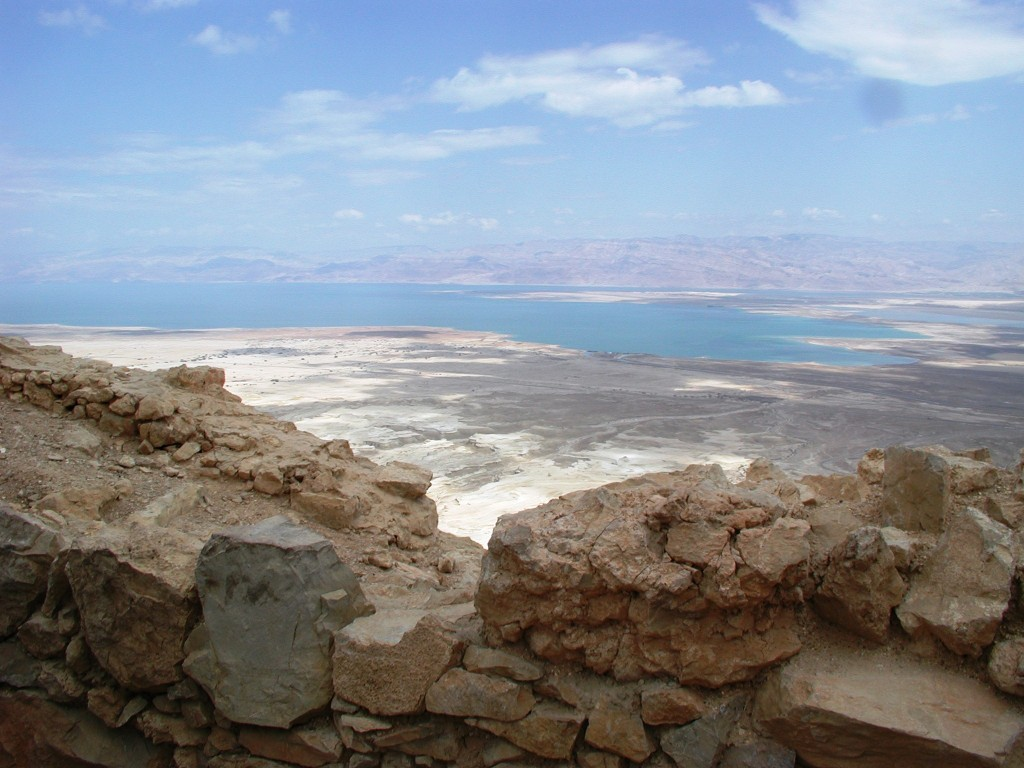 A view of the Dead Sea from Masada (photo credit: Shmuel Bar-Am)