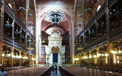 The Dohany Synagogue (Aaron Kalman)