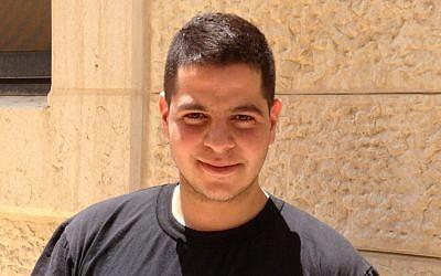 Mohammed Ibrahim (photo credit: Elhanan Miller/Times of Israel)