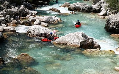 Rafting on the Soca River in Slovenia. (illustrative photo: CC BY Hotfield, Flickr)