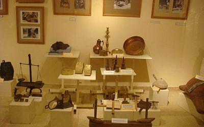 Jewish artifacts in a Casablanca museum. (photo credit: CC BY dlisbona, Flickr)