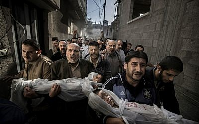 The 2013 World Press Photo of the year by Paul Hansen (photo credit: AP/Paul Hansen, Dagens Nyheter)