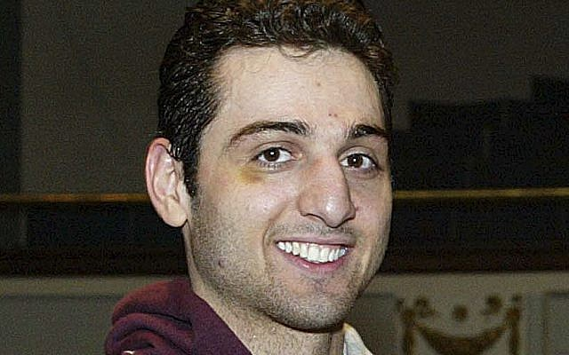 Boston bombing suspect Tamerlan Tsarnaev (photo credit: AP/The Lowell Sun, Julia Malakie)