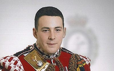 This undated image released Thursday, May 23, 2013, by the British Ministry of Defence, shows Lee Rigby, who was identified by the MOD as the serving member of the armed forces who was attacked and killed by two men in the Woolwich area of London (photo credit: AP/MOD)