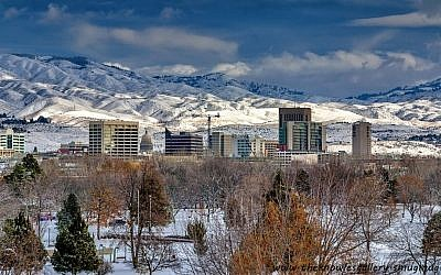 Illustrative photo of Boise, Idaho (photo credit: Charles Knowles/Wikimedia Commons)