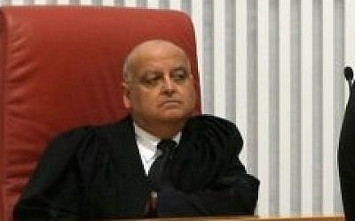 Supreme Court Judge Salim Joubran, February 17, 2009. (photo credit: Kobi Gideon/Flash90)