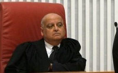 Supreme Court Judge Salim Joubran, February 17, 2009. (photo credit: Kobi Gideon/Flash90)