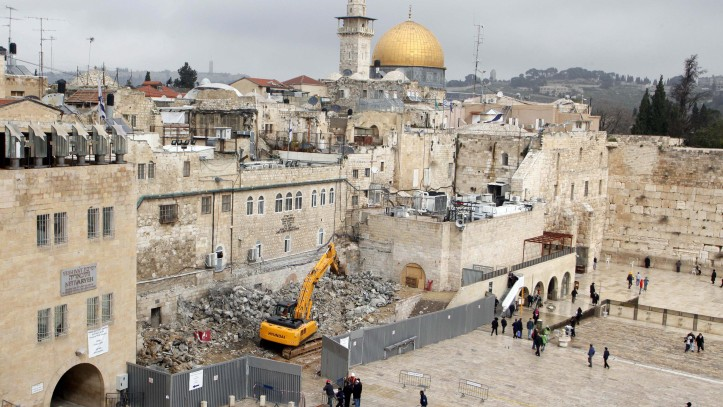 western wall project threatens history archaeologists warn the