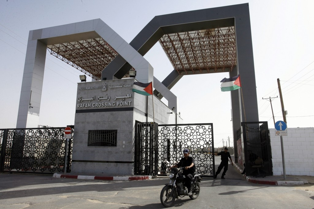 Egyptians close down Gaza crossing for holiday The Times of Israel