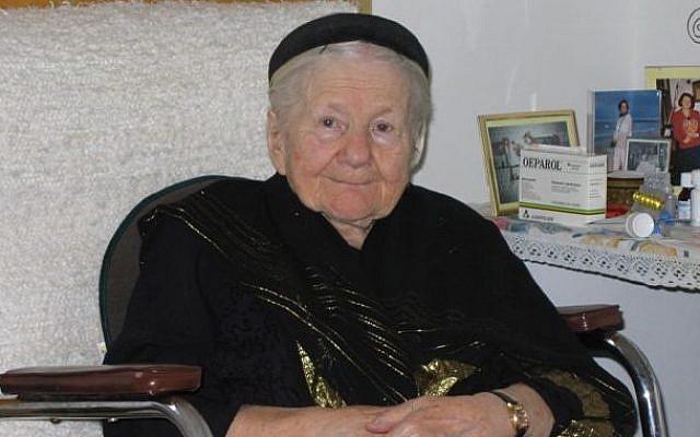 Irena Sendler in 2005. (photo credit: Mariusz Kubik)