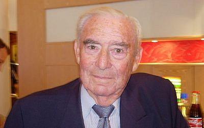 Norwegian Jewish politician Jo Benkow (photo credit: Wikimedia Commons CC BY-SA 2.5 Lars Røed Hansen)
