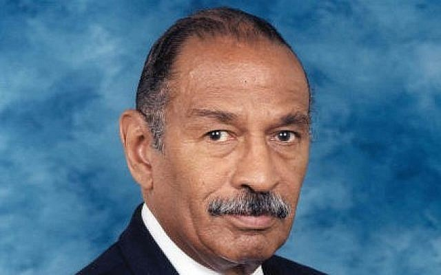 Rep. John Conyers (D-Mich) attended a speech recently by Minister Louis Farrakhan that descended into a racist, anti-Semitic diatribe. He has served in Congress for 65 years. (Photo credit: Wikipedia)