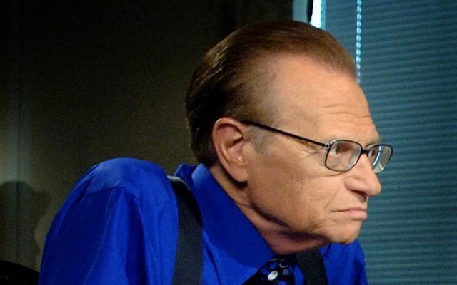 Larry King (CC BY Wikipedia/US Defense Department/File)