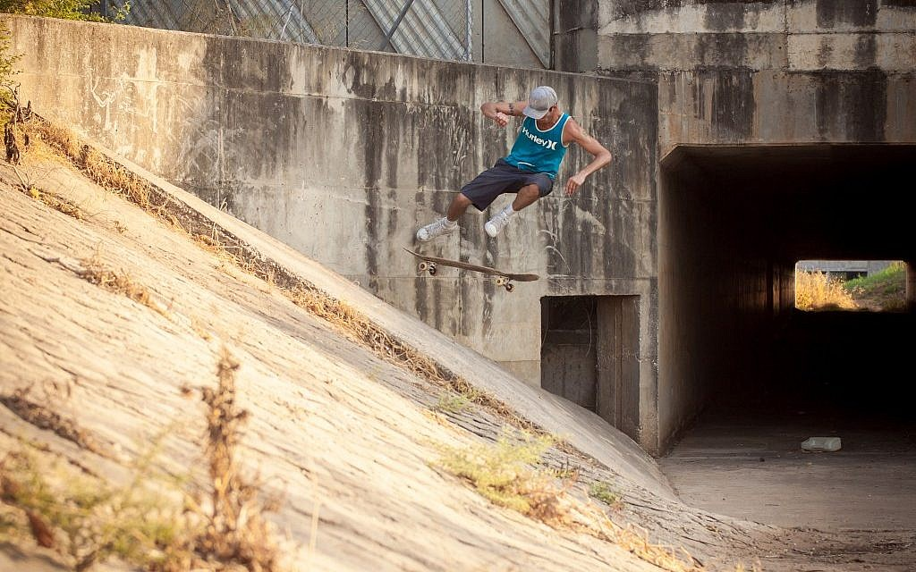 Israeli pro-longboarder Yoni Ettinger (photo credit: Courtesy)