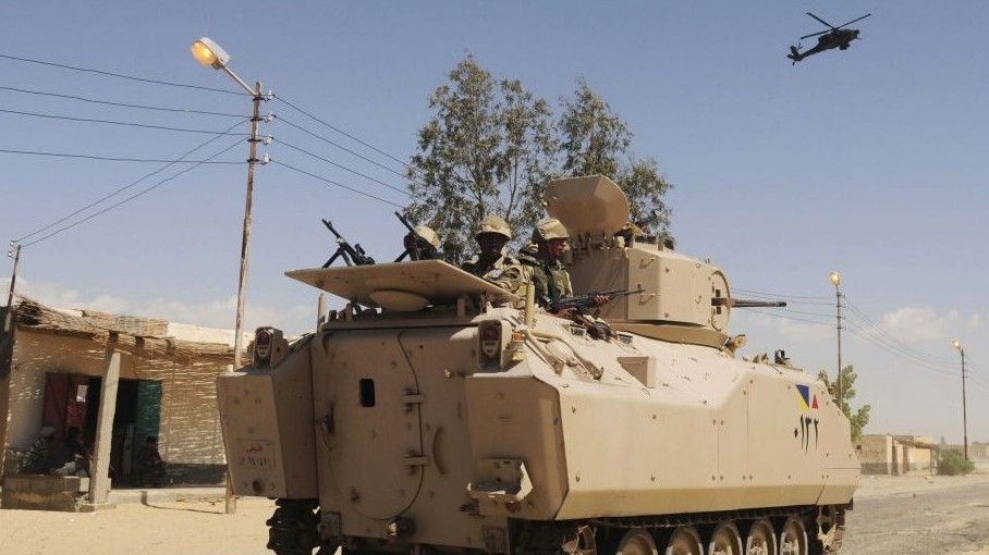 Egyptian troops mistakenly fire on Sinai funeral   The Times of Israel